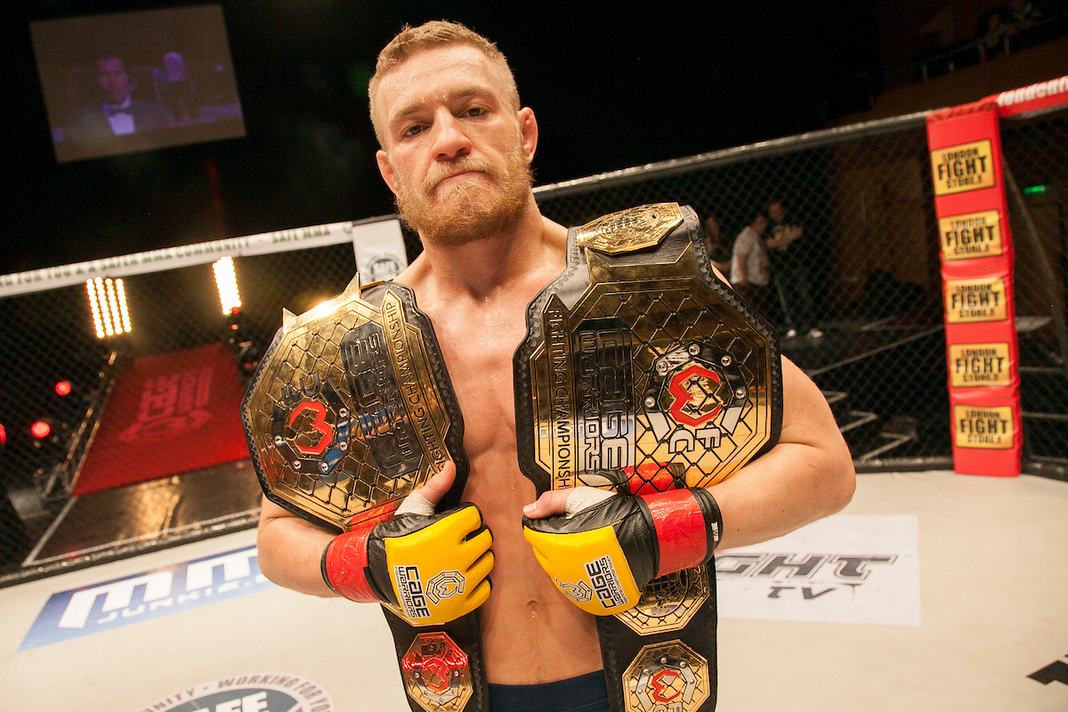 Conor McGregor became a two-weight champion at Cage Warriors, launching his incredible career.