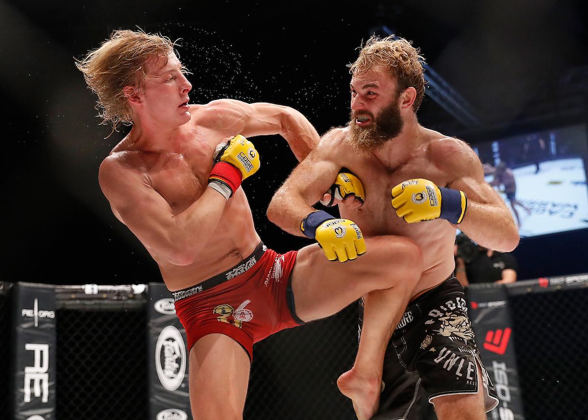 Soren Bak defeated Paddy Pimblett to win the lightweight belt at CW96