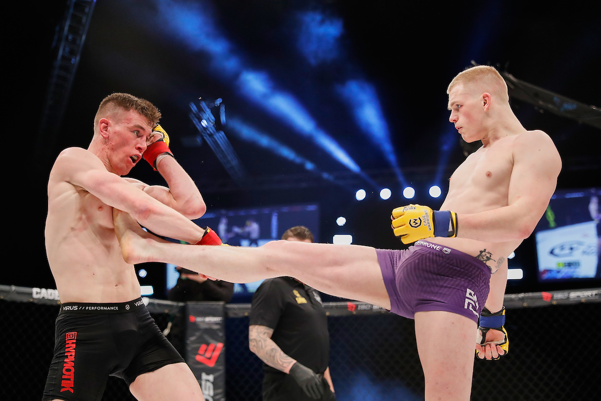 Ian Garry and James Sheehan went to war at CW101 and earned themselves pro contracts