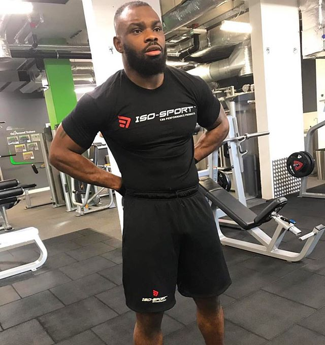 ISO Sport Athlete @darren_mma ready for war! Get your @isosportnow products on the London Fight Store and train like a champ!