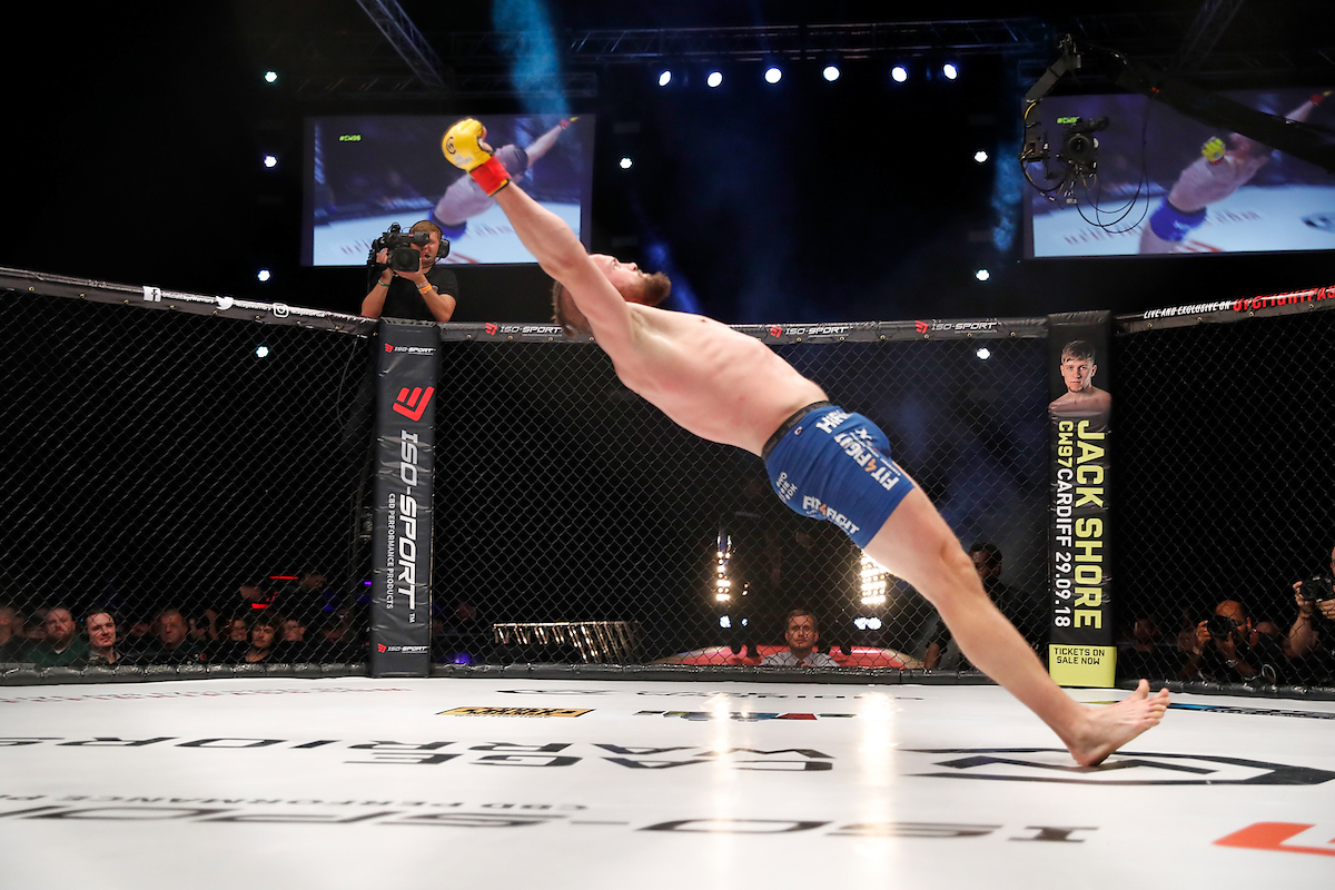 Dalby lets loose after a stunning TKO win at CW96
