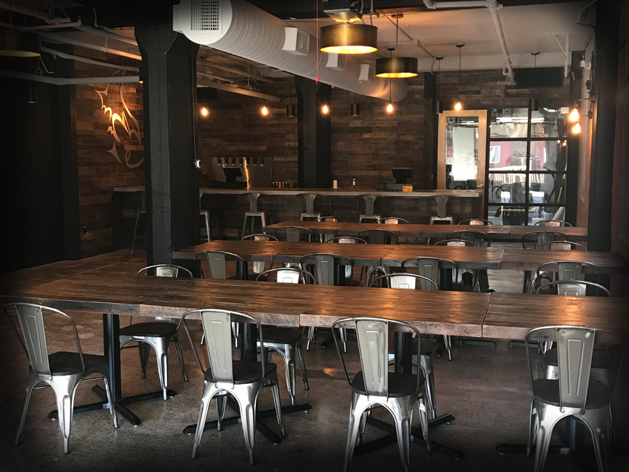 OUR TAPROOM - Taproom Hours: Thurs, Friday, & Saturday 4:00pm - 8:00pm and Sunday, 12:30pm - 4:30pmFamily and kid-friendly with games and non-alcoholic drinks available.Small snacks are available, and customers are welcome to bring their own food to enjoy within the tap room.Food trucks will be available on site from time to time (follow us on social media for updates).Dogs are not permitted.