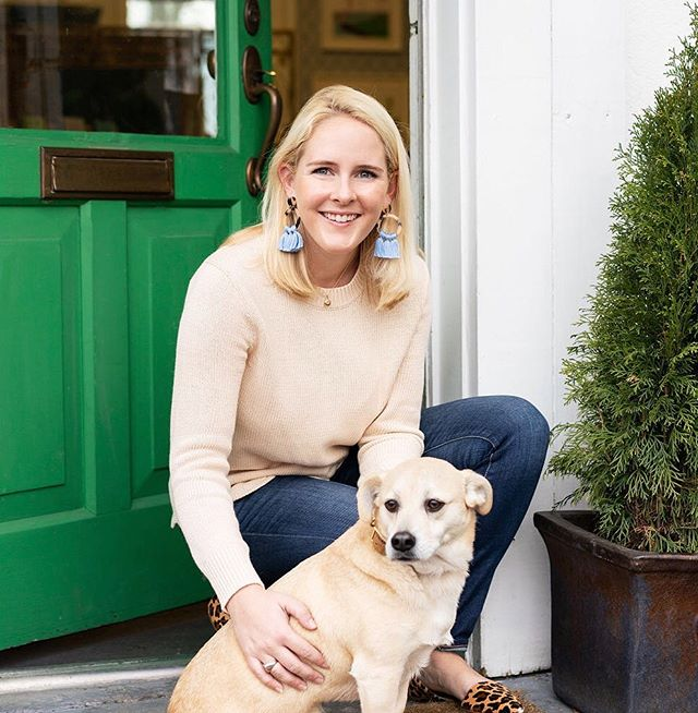 Happy #NationalBestFriendDay to my pup, Scup. Best friend a girl could ask for 💕 We have plenty of things in common - a love of icecream, our flowing blonde locks, and a preference for being behind the camera. 📸 by @abbymurphyphoto