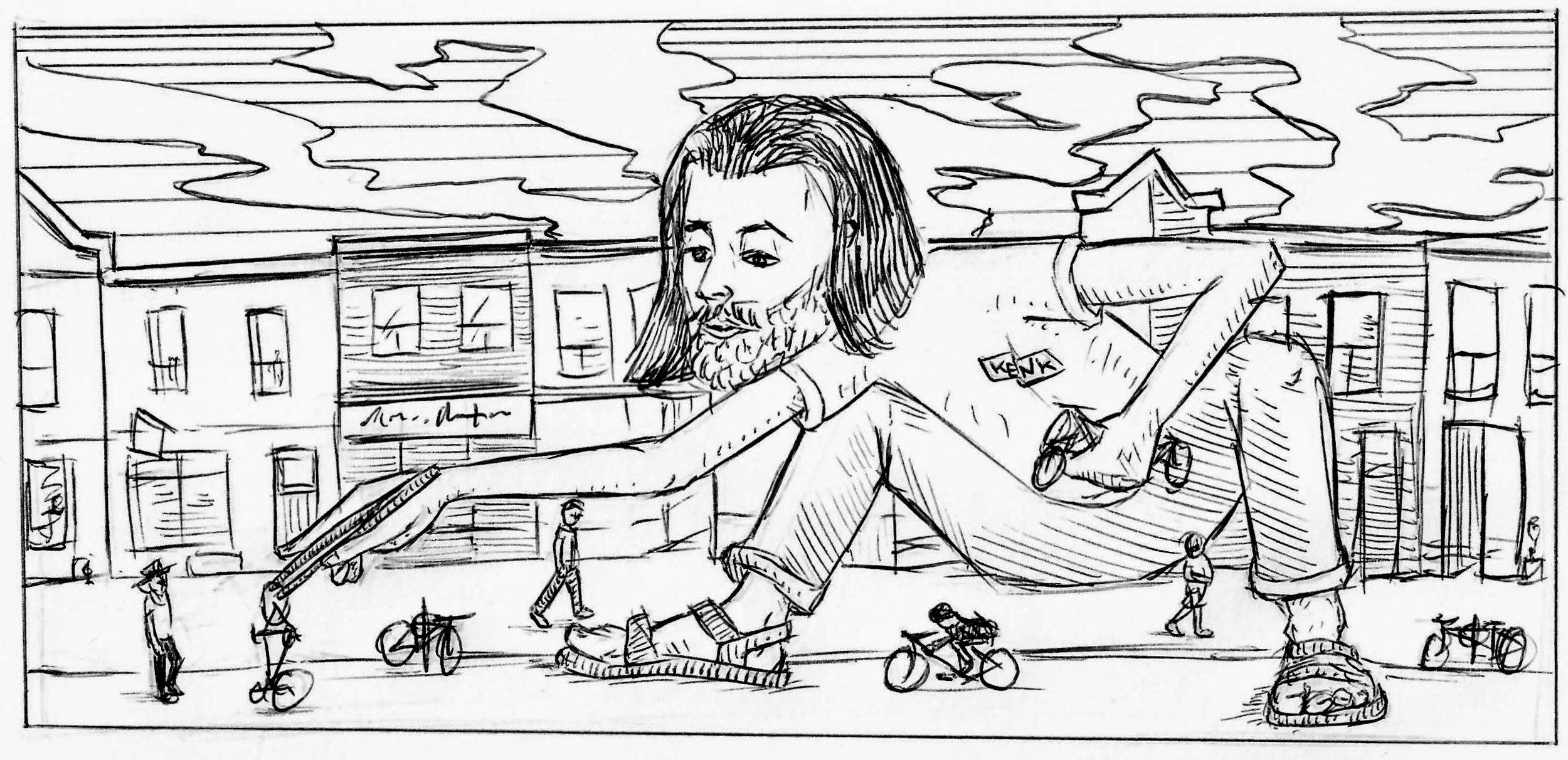 Igor Kenk Drawing