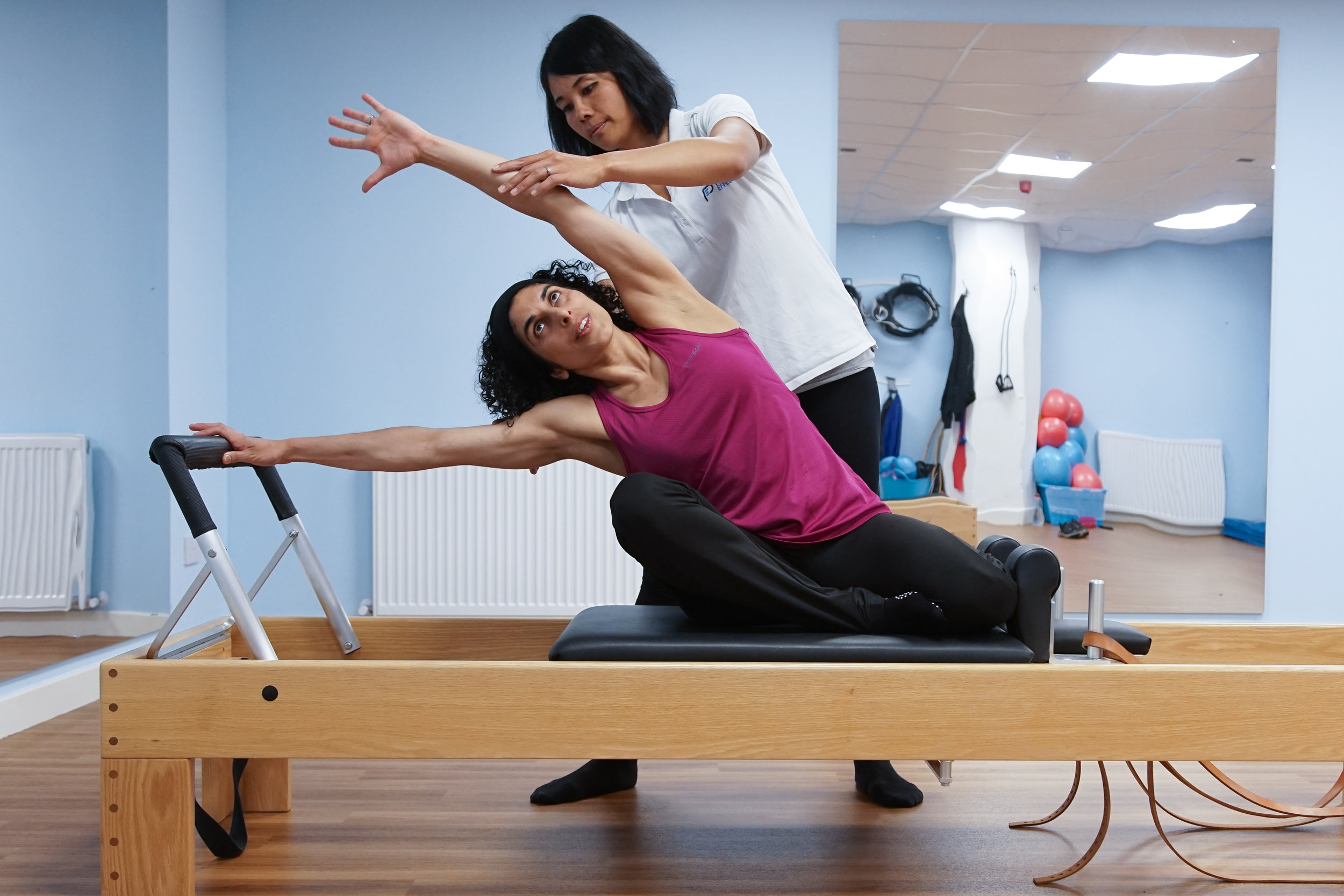 Clinical Pilates at Physio Effect Glasgow - Reformer