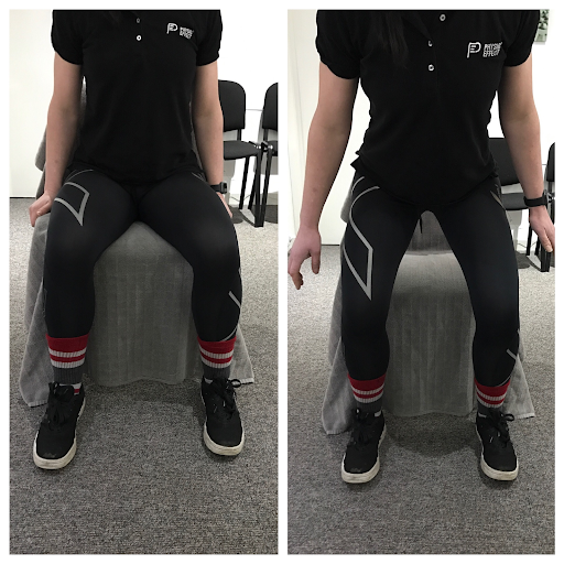 Correct movement pattern on Sit to Stand and Step-Ups fig.1