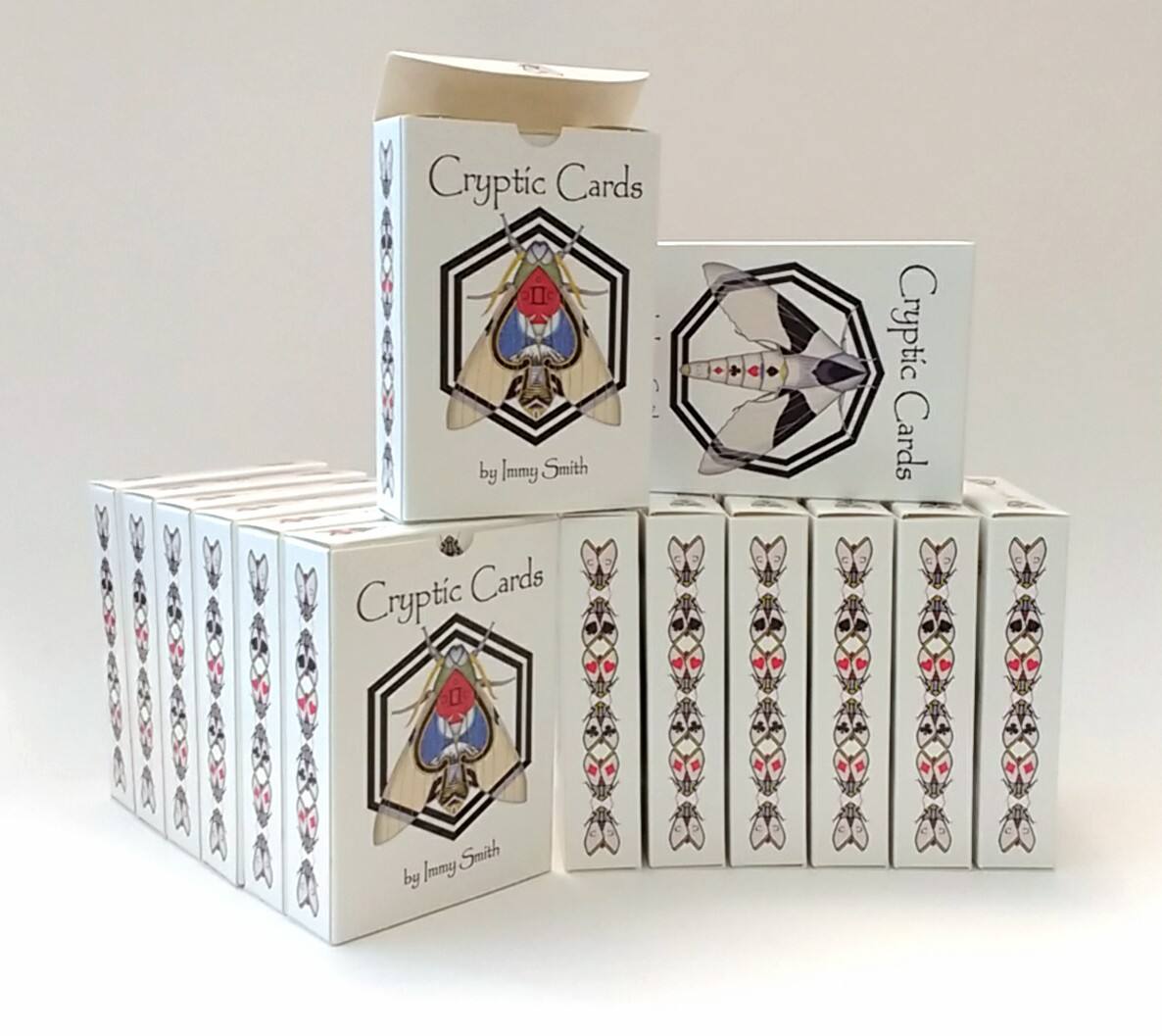 A brick (12 decks) of Cryptic Cards