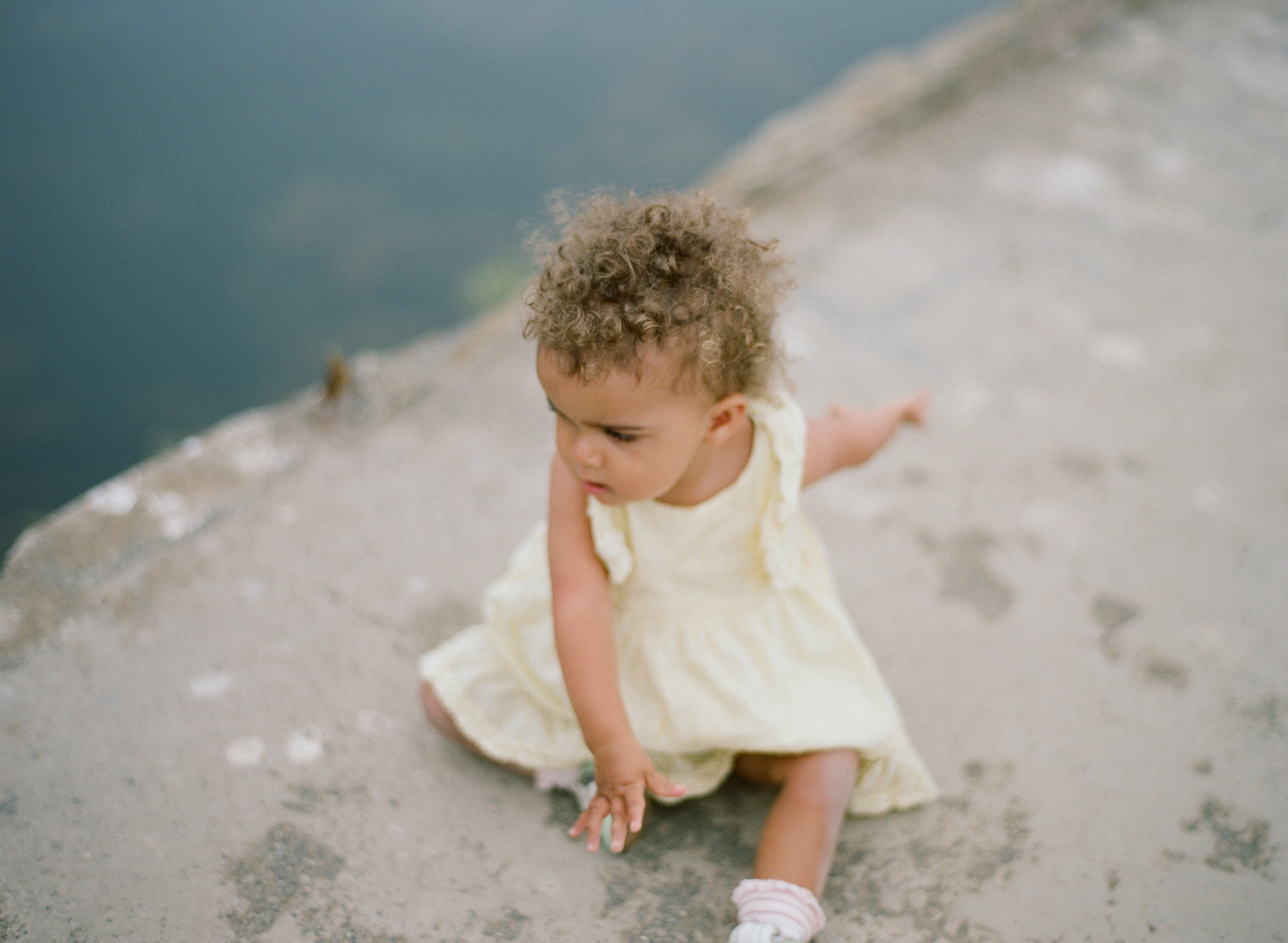 Family Photography at the Sutro Baths in San Francisco by Rachel Sima Photography