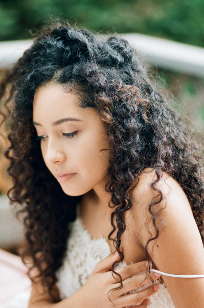 Film photograph of beautiful girl by Rachel Sima Photography