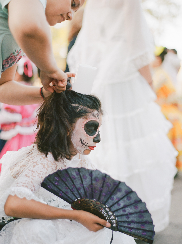 Dia de los Muertos Oak Park Sacramento by Rachel Sima Photography