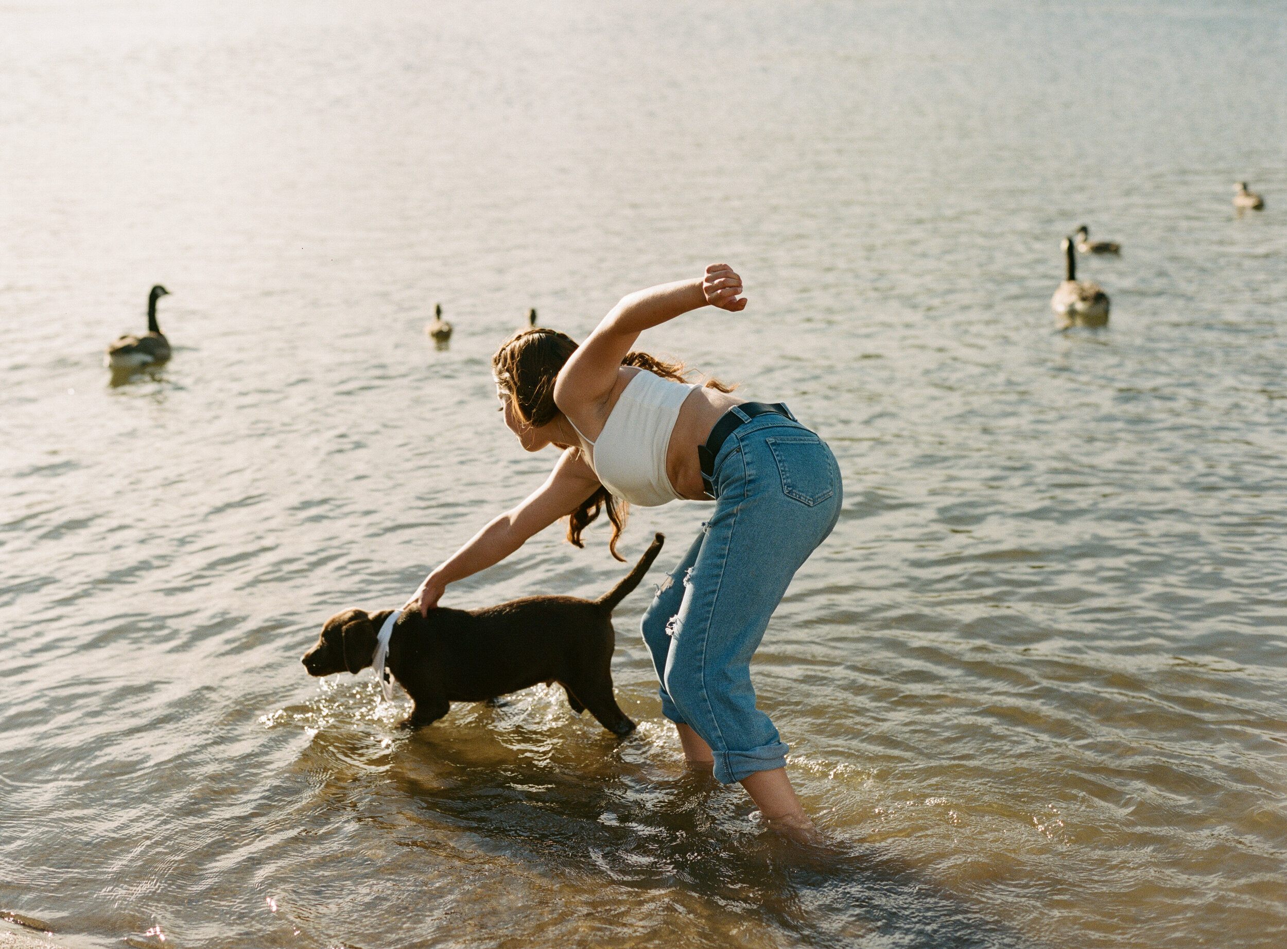 Sacramento-girl-portrait-photography-puppy