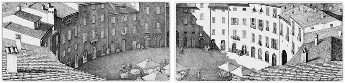 Lucca Diptych (2007)