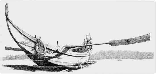 Portuguese Fishing Boat