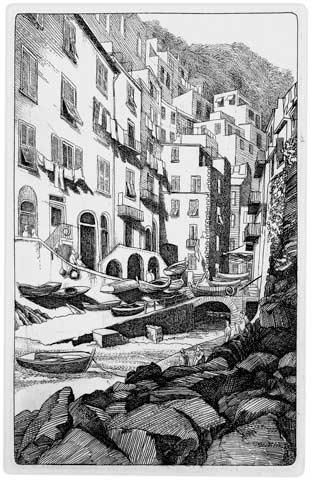 Riomaggiore, Cinque Terre (