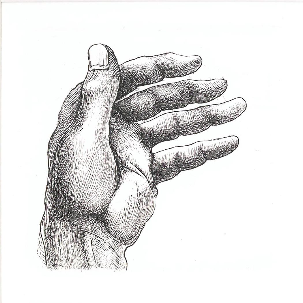 Hand study 1 (2019)