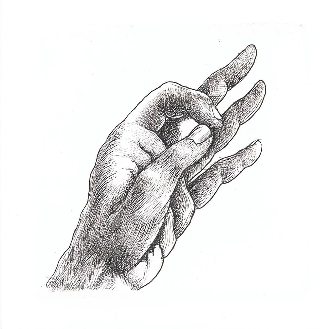 Hand study 8 (2019)