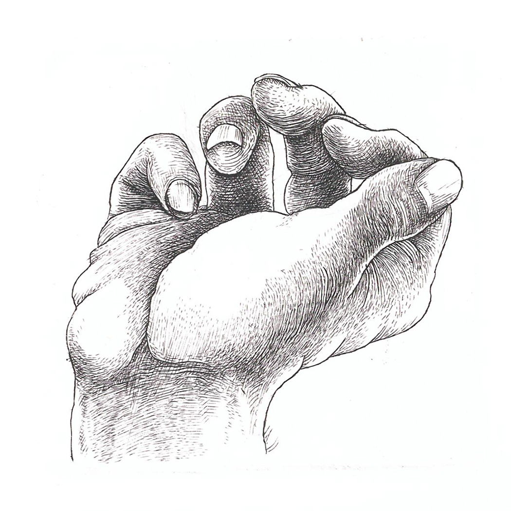 Hand study 9 ( 2019)