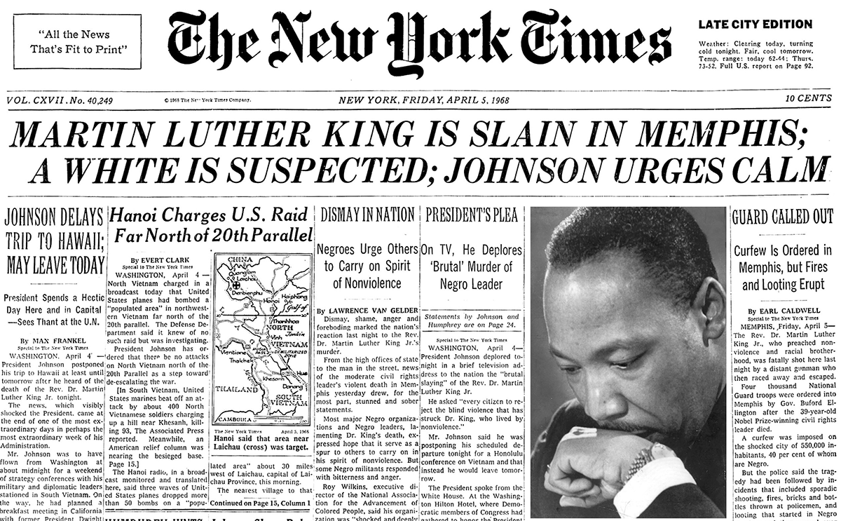 New York Times Cover, King Assassinated.png