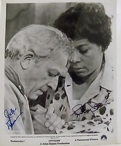 Director Jules Dassin and co-screenwriter and star Ruby Dee