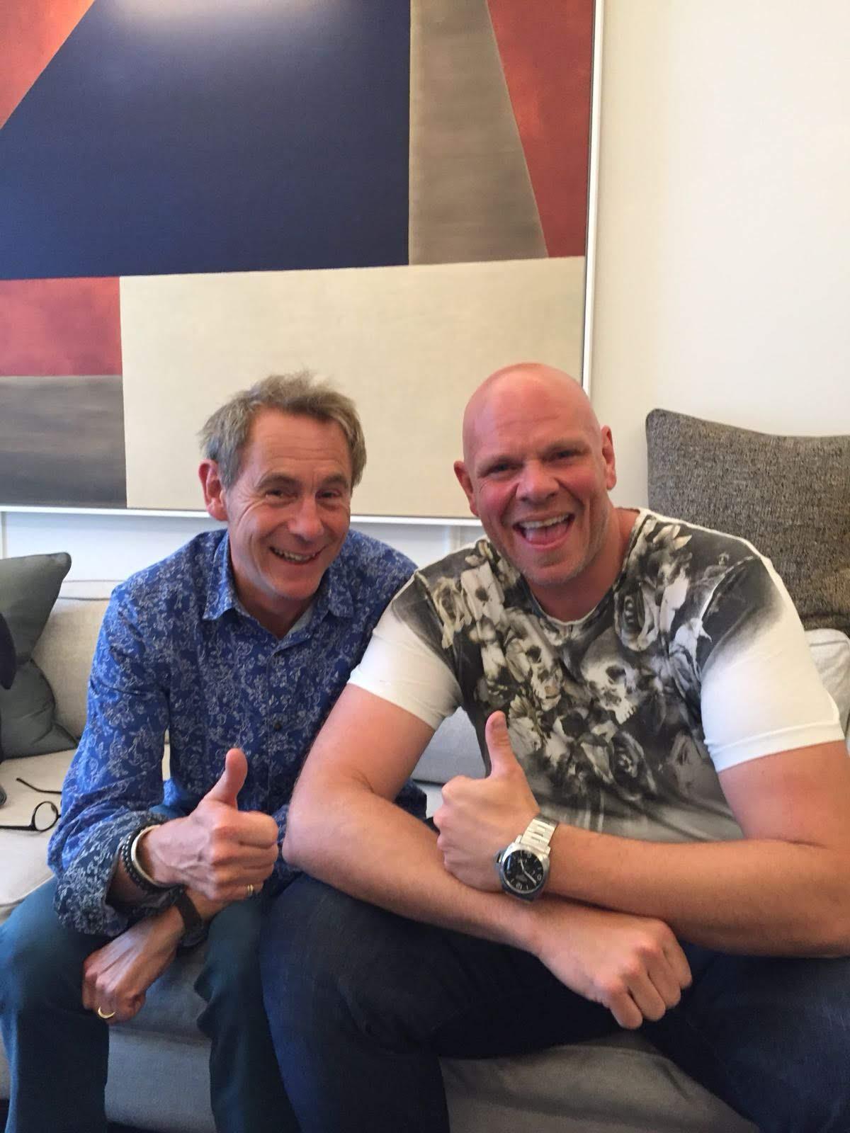 With Tom Kerridge