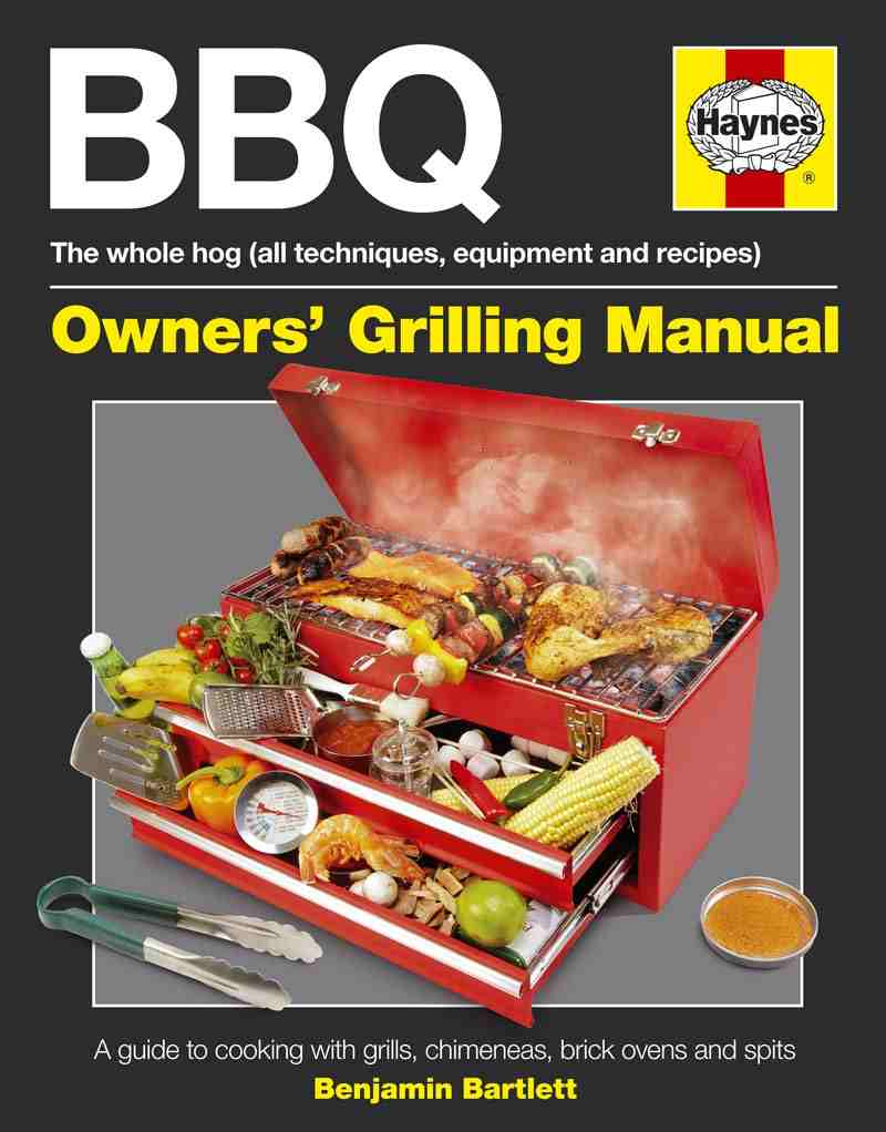 30 Minute Lamb Grill for Two - by Ben Bartlett from BBQ Owners' Grilling Manual: A Guide to Cooking with Grills, Chimeneas, Brick Ovens and Spits (Haynes Owners Workshop Manuals)
