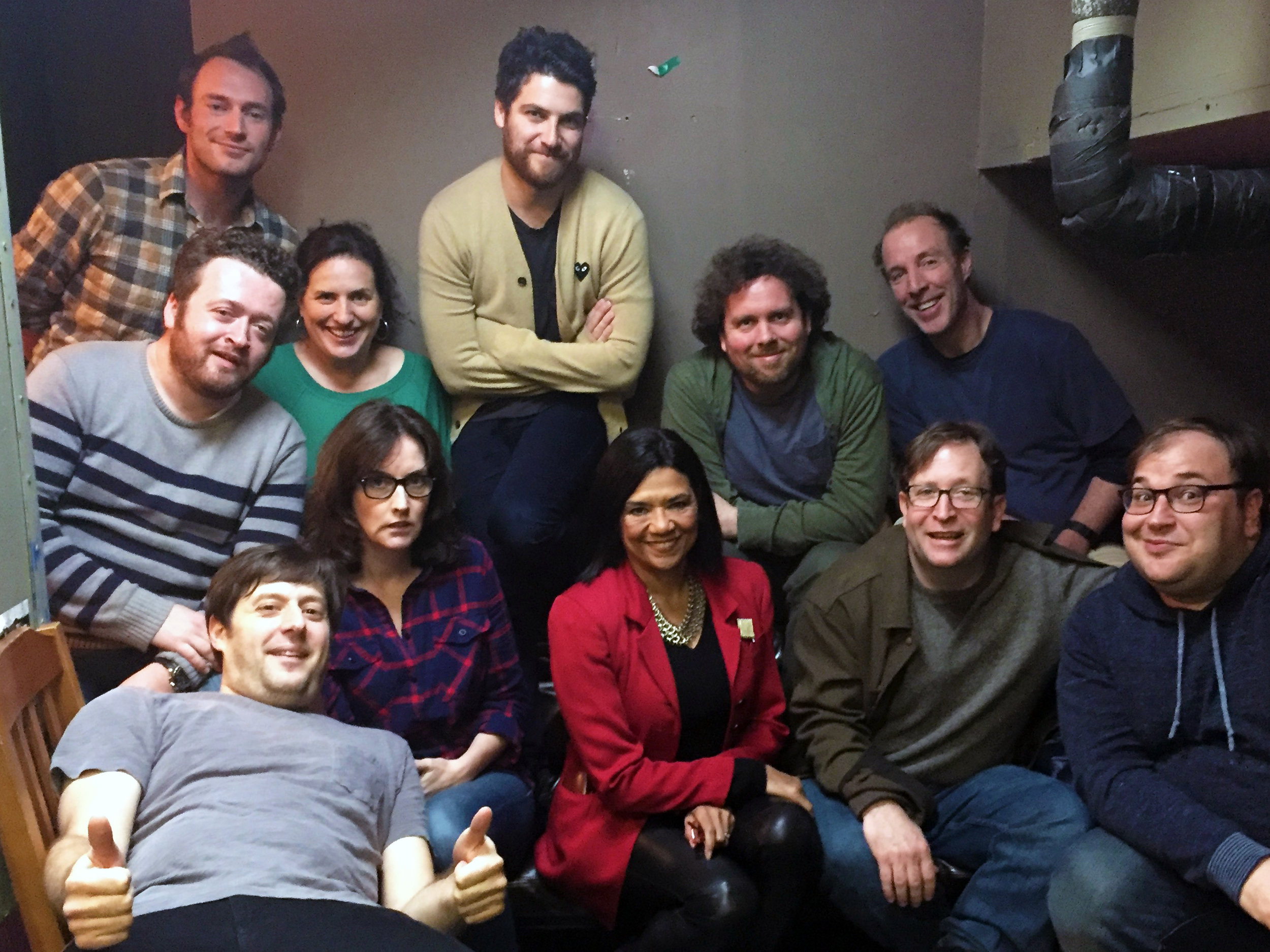 Monologists: Tom Purcell, Sonia Manzano