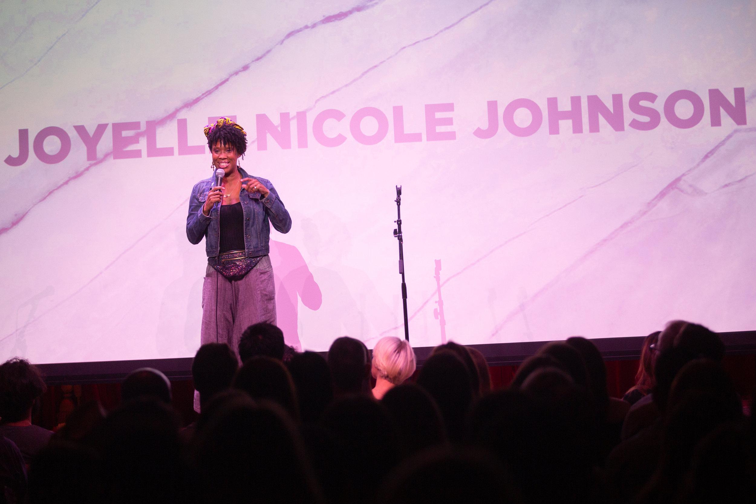 Joyelle Nicole Johnson   Photo:  Arin Sang-Urai