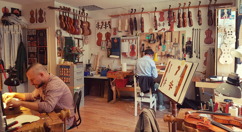 匈牙利著名的造琴店