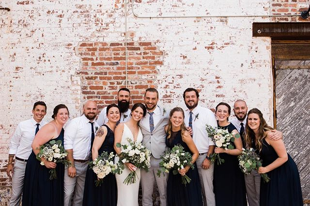 With friends like these, of course their wedding day was perfect! I love getting to know my couple's people. Who you have around you on your day is so important and so special. Honored to capture you and yours!