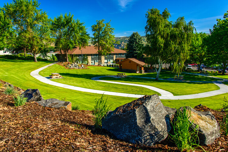 Situated on four tranquil acres in The Dalles, Columbia Basin Care is the region's only nonprofit, community-owned skilled nursing center for short-stay rehabilitation and long-term care.