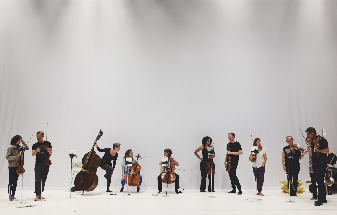 Scottish Ensemble by Hugh Carswell