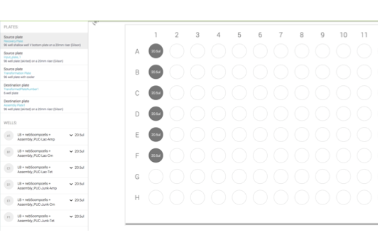 PCR - Our PCR workflow is a core set of customisable basic building blocks that can be used to construct complex demanding PCR experiments.