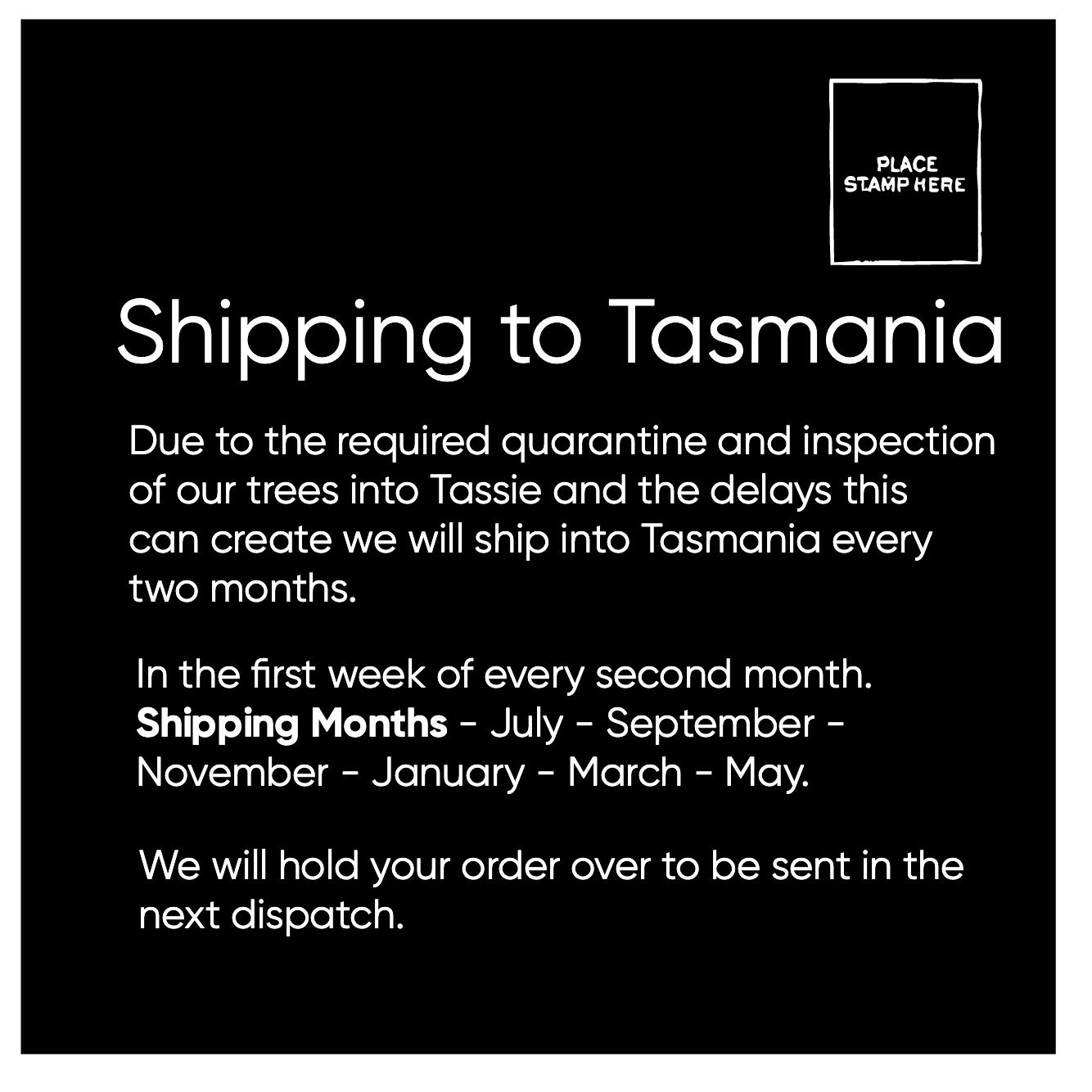 Shipping to Tasmania .jpg
