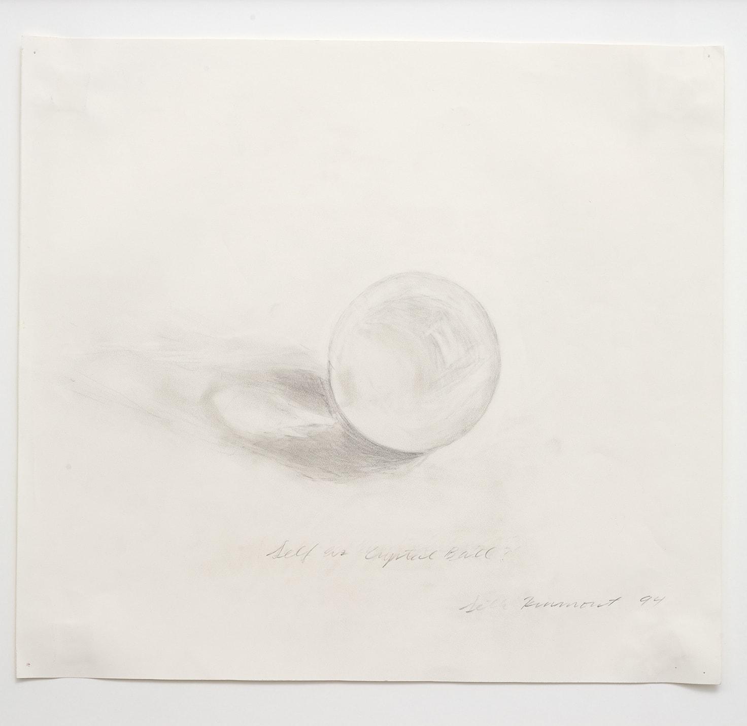 self as crystal ball, 1994