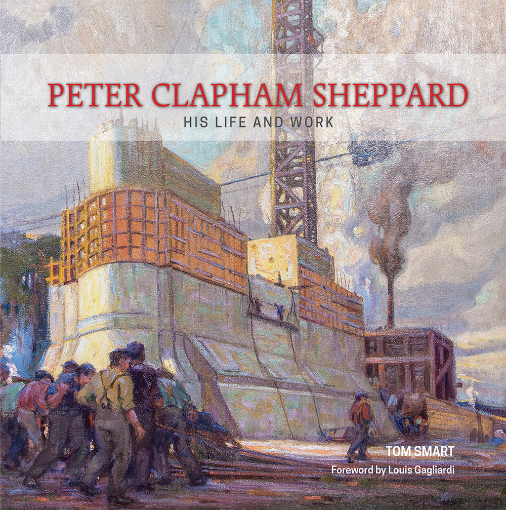 Peter Clapham Sheppard His Life and Work - By Tom SmartForeword by Louis GagliardiClick this link to purchase book from Amazon.ca