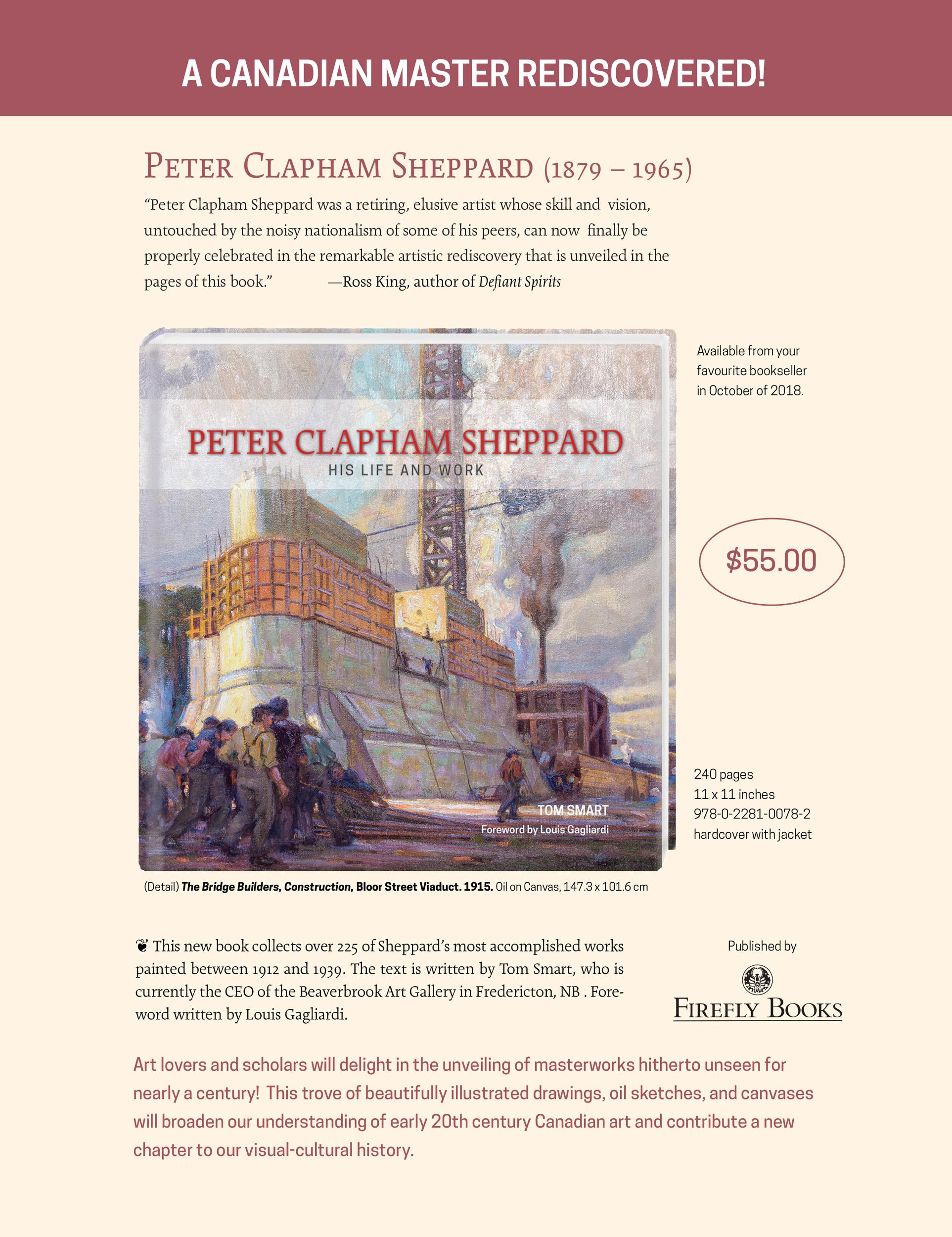 Peter Clapham Sheppard Book