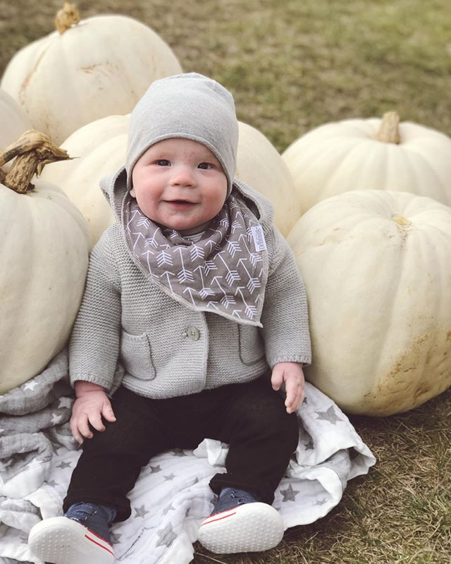 Cutest pumpkin in the patch 🎃