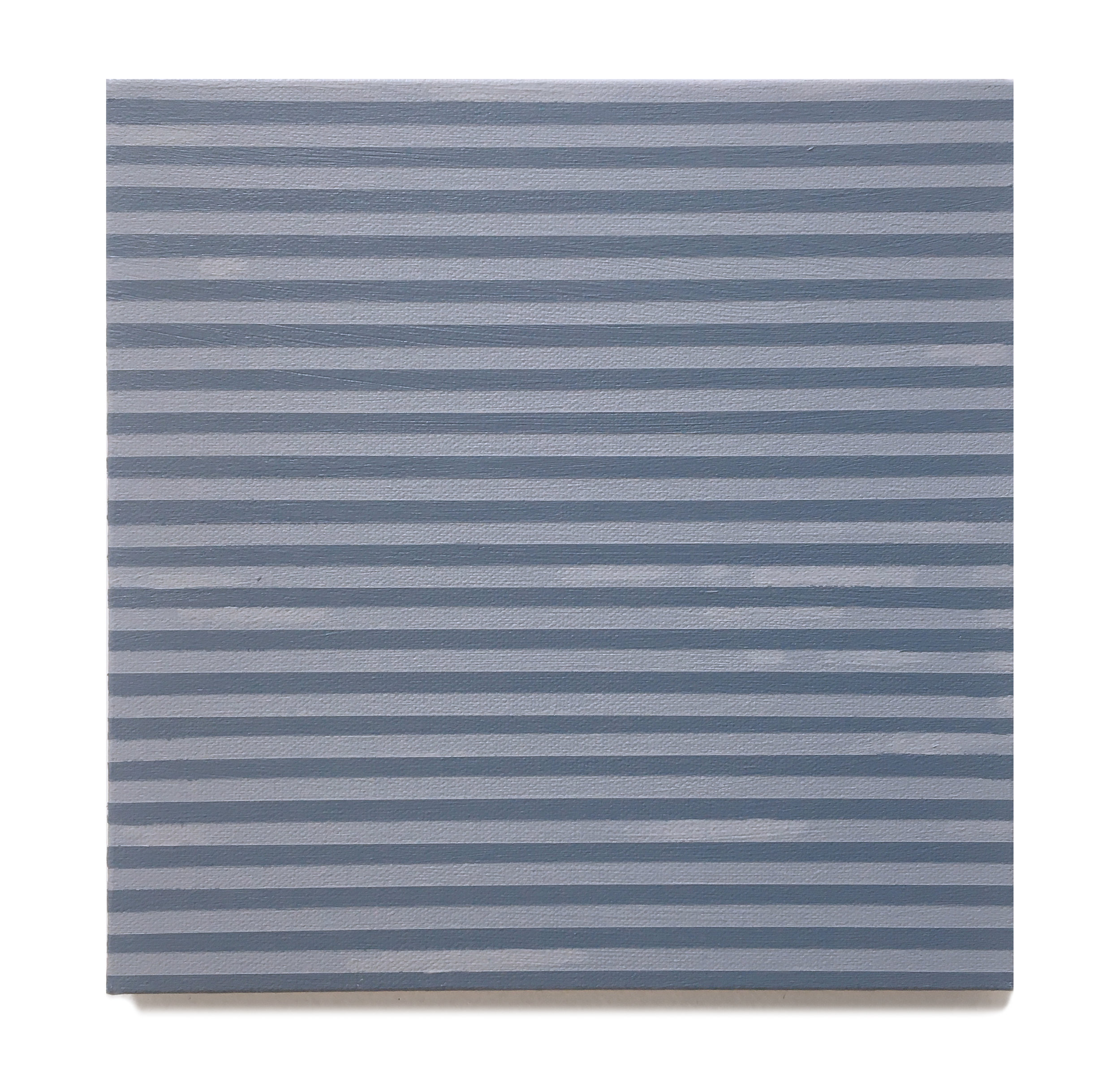 Agnes Martin, 2019,  Acrylic on canvas,  10 x 10 inches,  25.4 x 25.4 cm