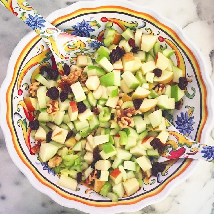Apple Waldorf Salad -