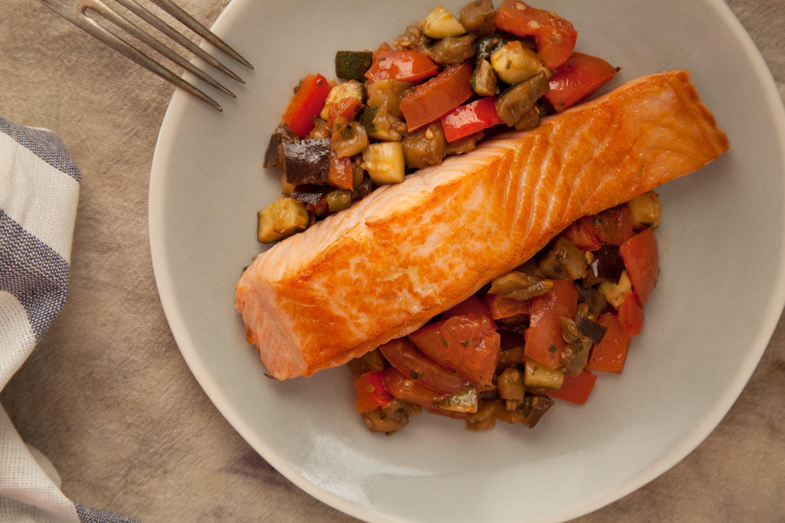 Seven health benefits of salmon -