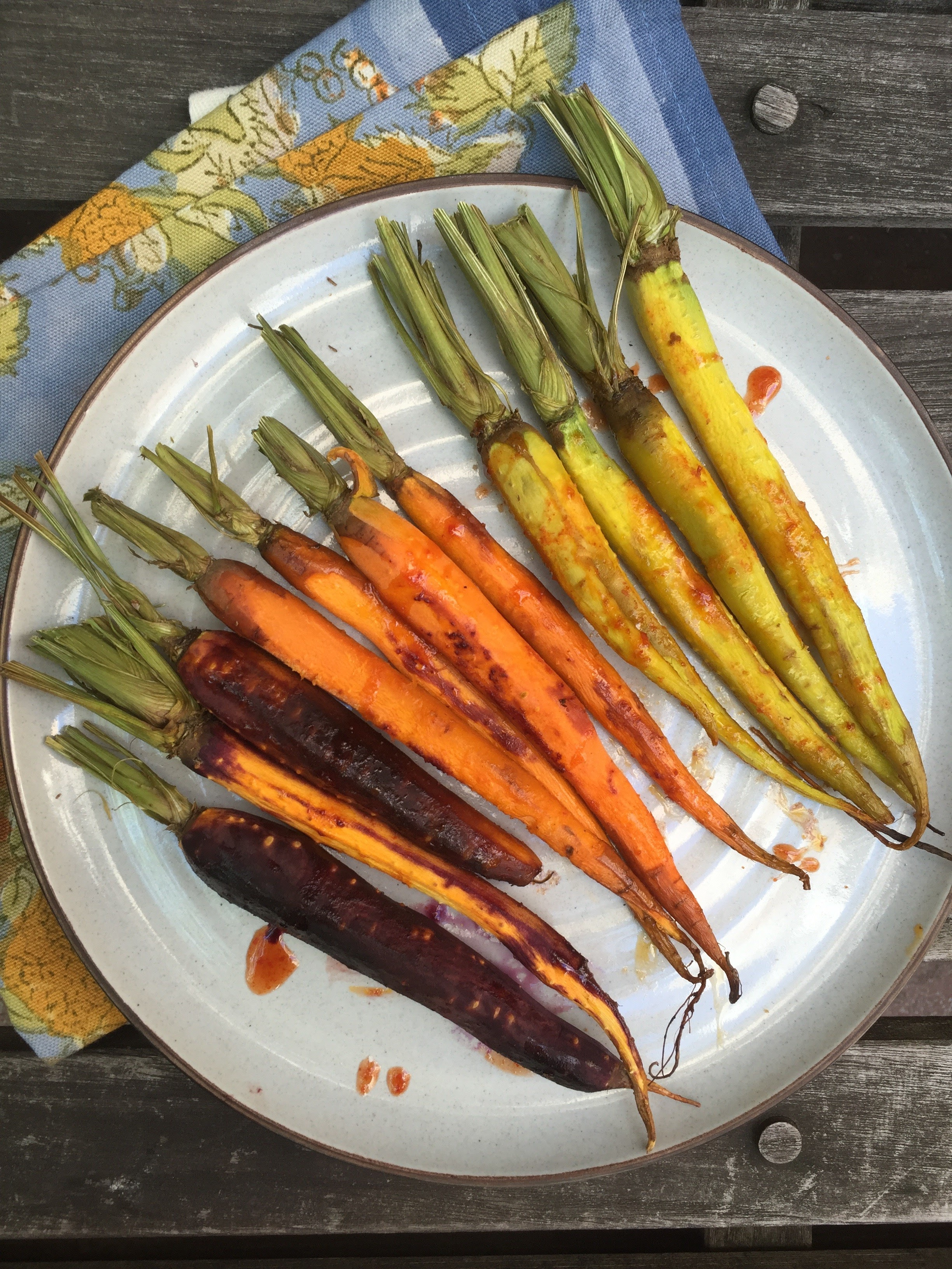 Also great as a snack alone or with some hummus and don't forget a delicious glass of carrot juice is packed with the 6 carrots you need in a week! -