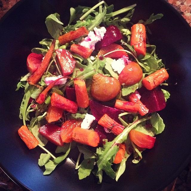 Lemony Beet Salad -