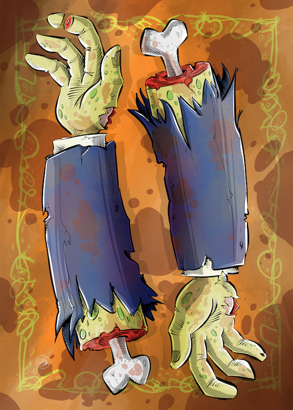 The Zombie Deck cardback