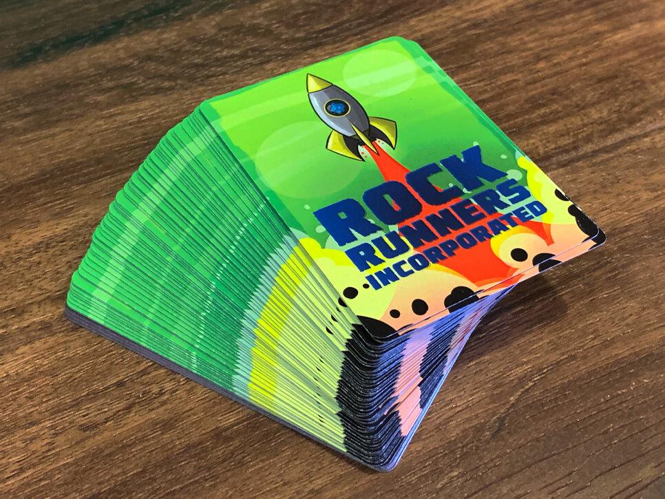 A full deck of Rock Runner Cards.