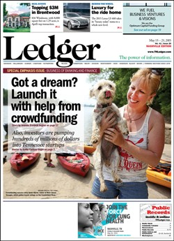Kayaking in Shelby Park featured in Nashville Ledger