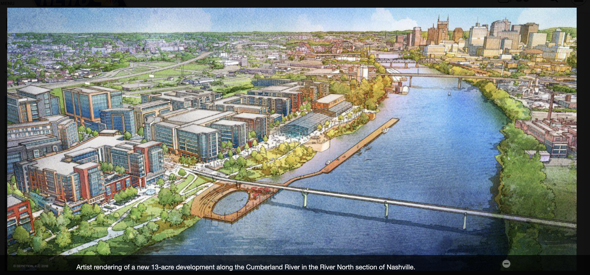 Nashville's Newest River Development