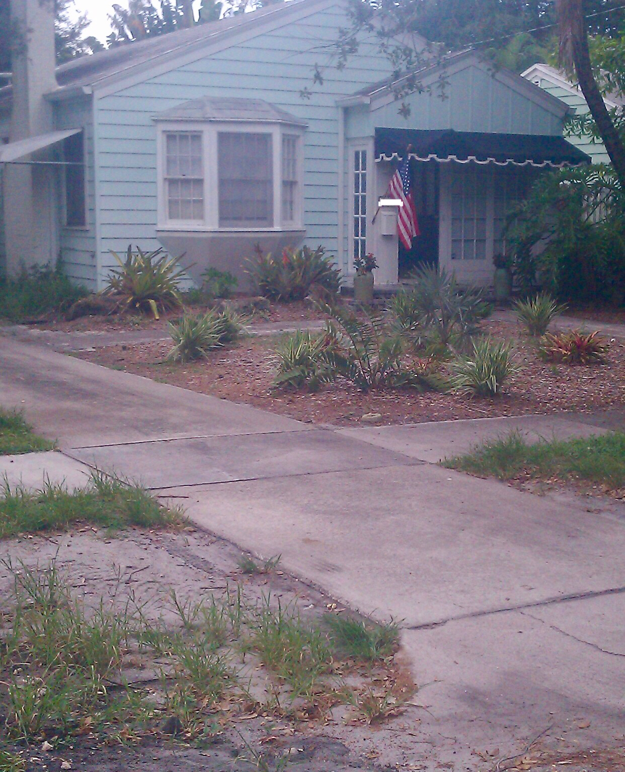 Exterior of House: Before