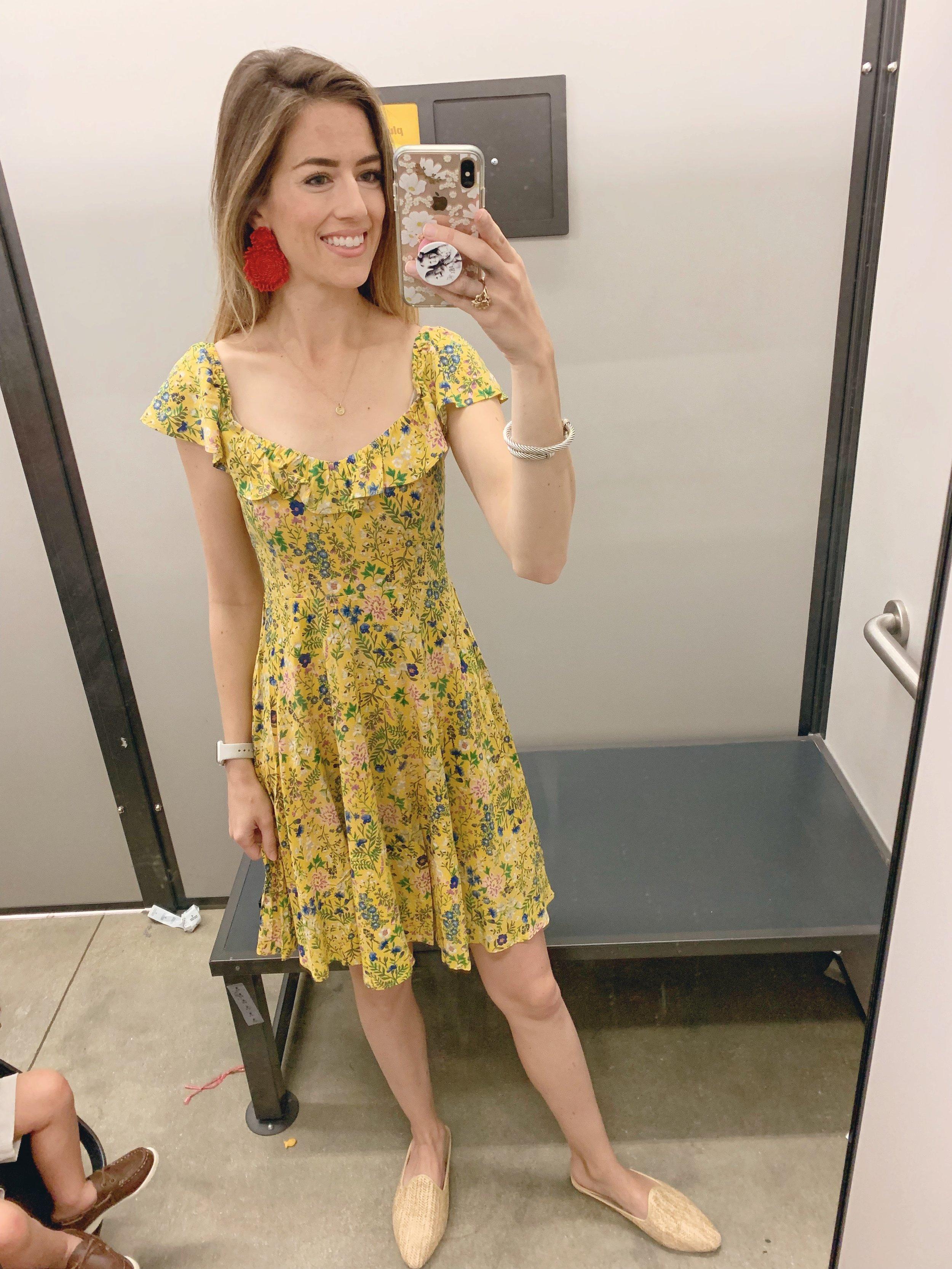 Dress  //  Earrings  //  Shoes