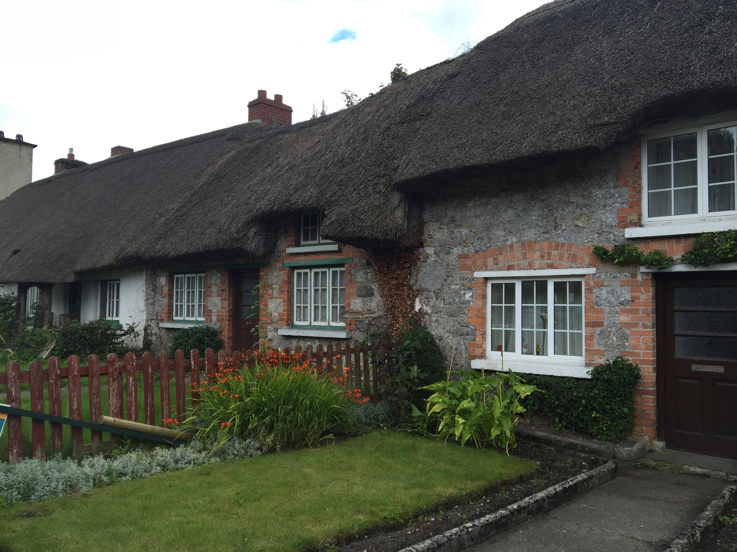 Thatched Roof Houses in Adare