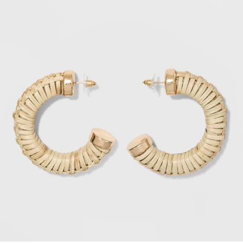 I forgot to snap a photo of these but I think the website photo is better than my quick iphone shot anyways. You could wear these with literally everything and its a great way to try out this trend in a more subtle way. $7.99